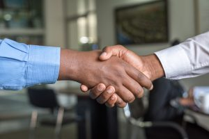 Handshake for sustainable online business