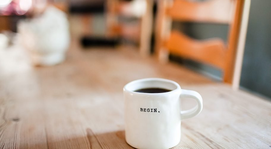 Begin on a coffee cup full of cup Photo by Danielle MacInnes on Unsplash