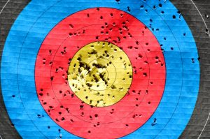 Target board. Photo by pixabay.com via pexels.com