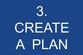 3. Create A Plan