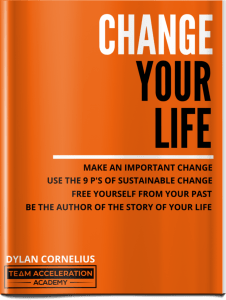 Change your life free online course. Make an important change in your life using the 9 Ps of Sustainable Change. Free yourself from your past. Be the author of the story of your life.